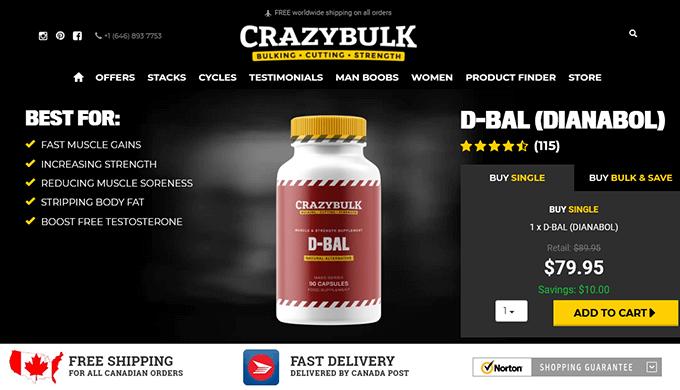 D-Bal Canada official website